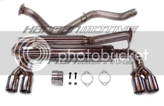 Harman Motive Exhaust System
