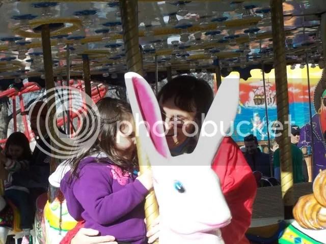 Bunny on the Carousel