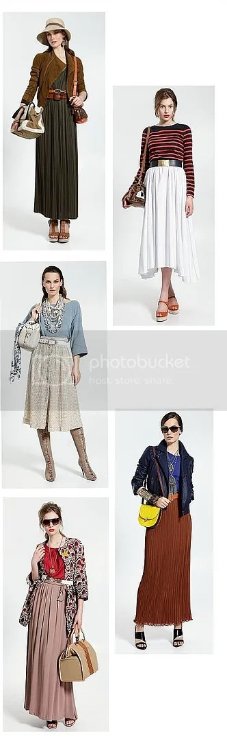 Long Skirt Fashion Trend Wearing Long Skirts Spring Summer 2011