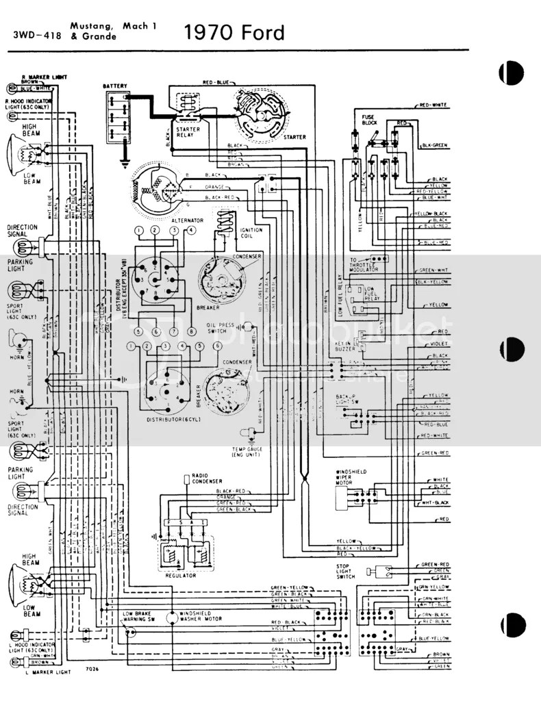 hight resolution of i need a wiring diagram or twenty ford forums mustang forum rh fordforums com 1970 mercury