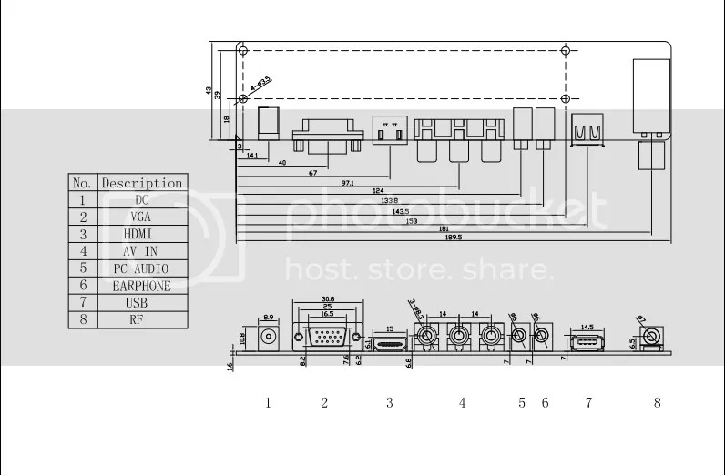 Universal HDMI LCD LED Controller Board V56 Drive 1080P