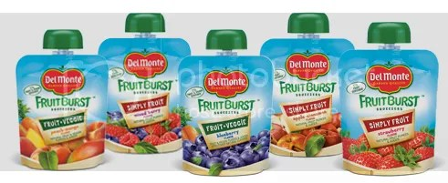 Del Monte Fruit Burst Squeezers