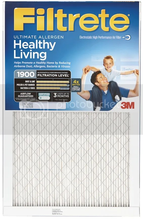 Filtrete Healthy Living Filter