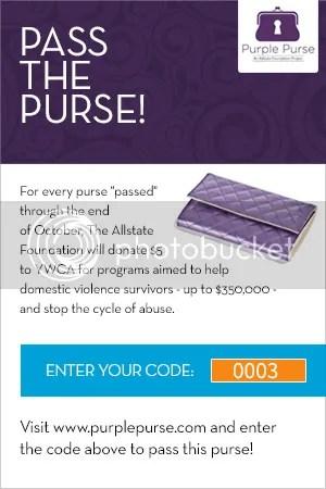 #PurplePurse