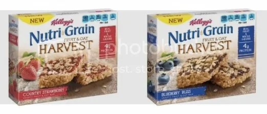 Nutri-Grain® Fruit & Oat Harvest cereal bars