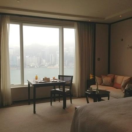 Hong Kong hotel room