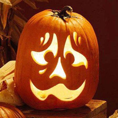 > sad pumpkin