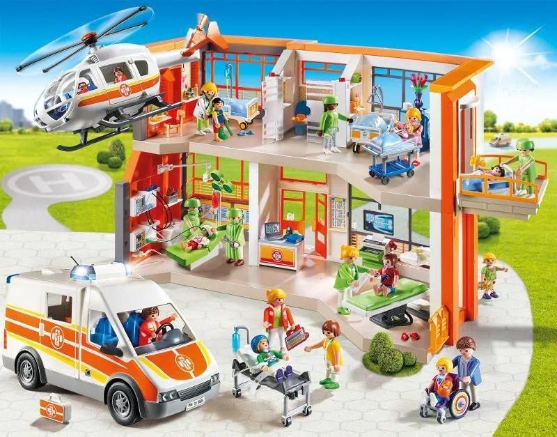PLAYMOBIL 6657 Hpital Pdiatrique Amnag Achat Vente