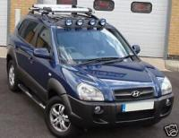 HYUNDAI TUCSON ROOFRACK X CROSS BARS ROOF RAILS RACK