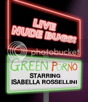 Green Porno - Live Nude Bugs