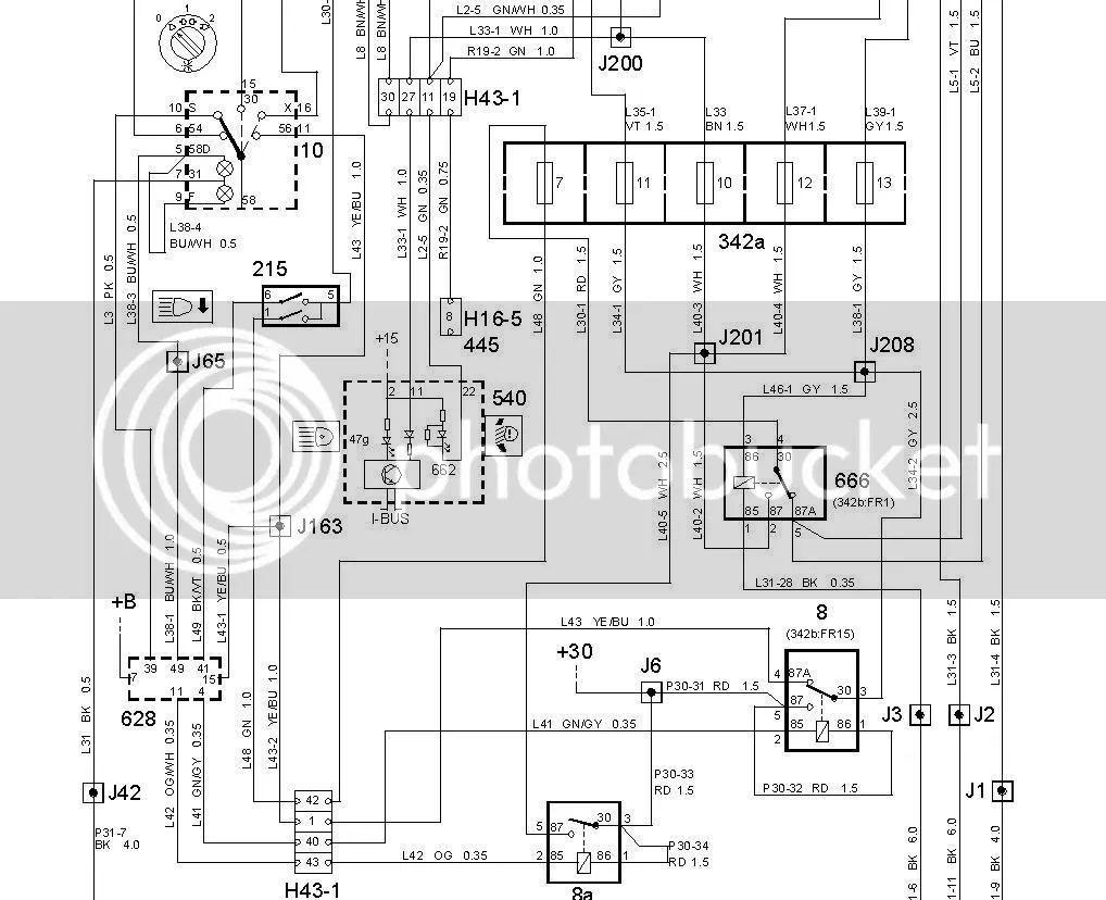 2001 saab wiring diagram