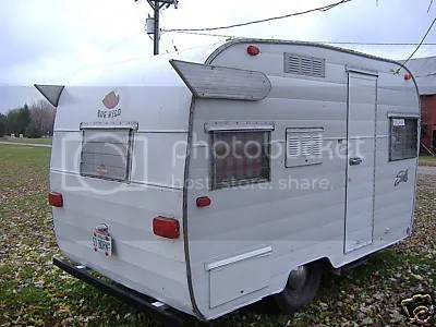 The Estate of Things chooses Vintage Shasta Camper Trailer