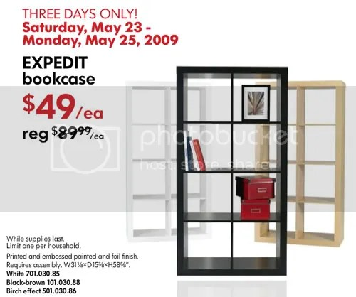 The Estate of Things chooses Ikea Expedit Bookcase