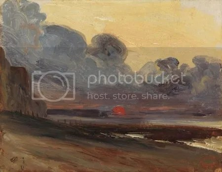 photo EugegraveneIsabeySunsetOnTheNormandyCoast1803ndash1886OilOnPaperMountedOnCanvas.jpg
