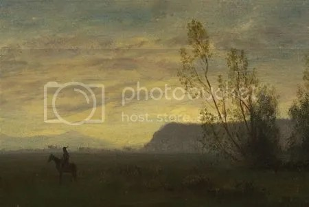 photo AlbertBierstadtIndianOnHorsebackCa1870-1880OilOnCanvas.jpg