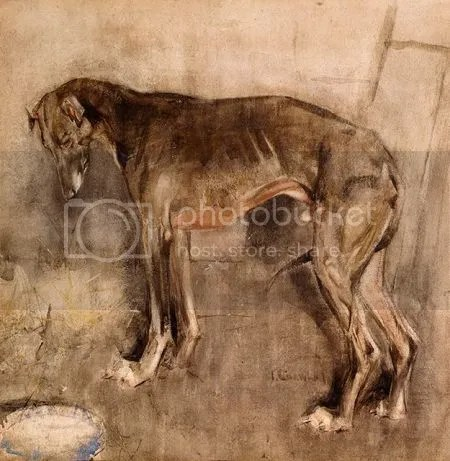 photo JosephCrawhallTheGreyhoundC1884Watercolour.jpg