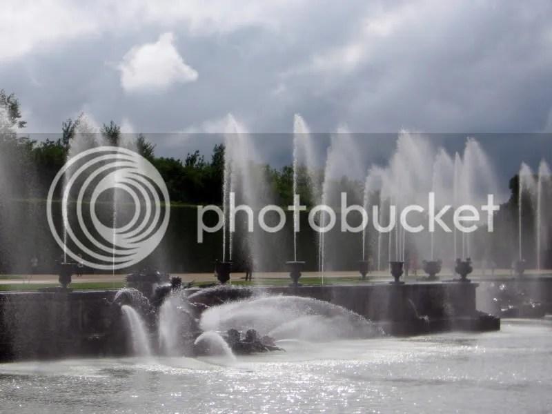 Fântâna lui Neptun din Grădinile de la Versailles