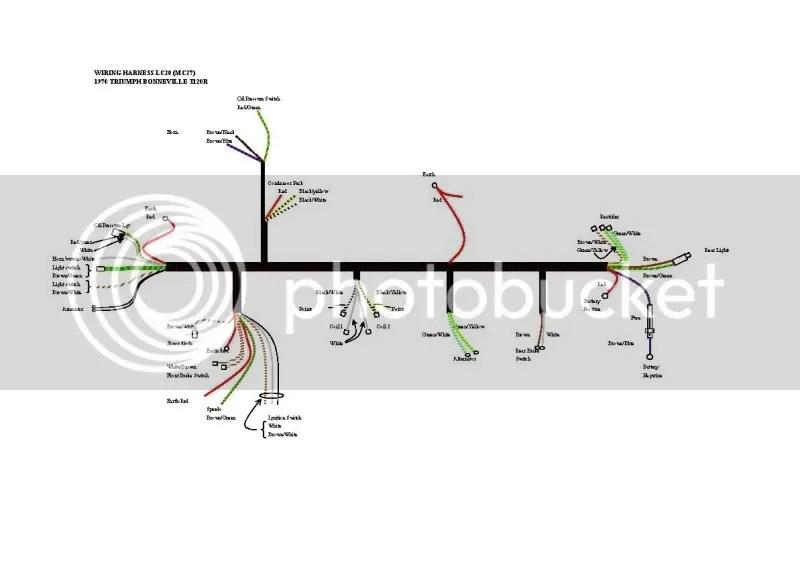 triumph t100 wiring diagram passat 1 8t engine 1967 bonneville q5 sprachentogo de problem 69 t120 forum rat motorcycle forums rh triumphrat net