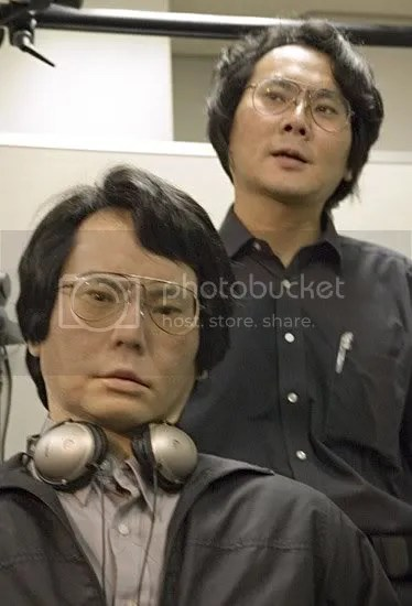 Ishiguro and his evil twin