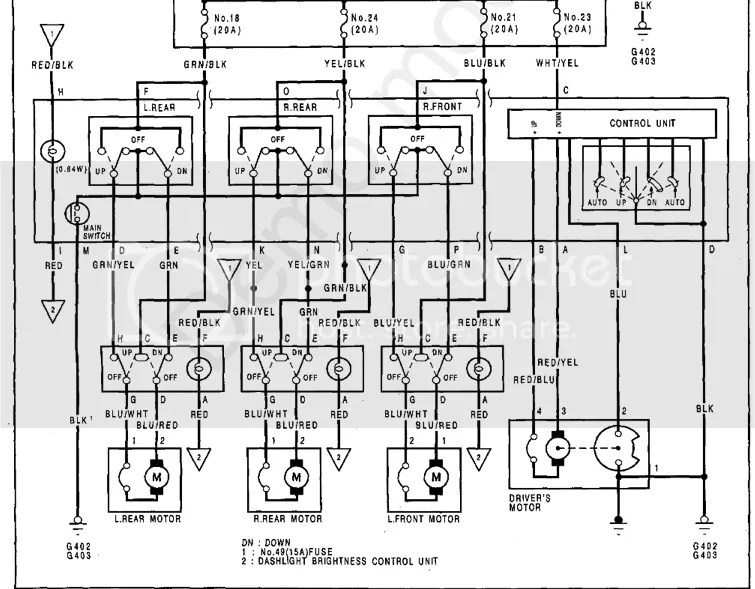 Draw your wiring : Acura Legend Wiring Diagram