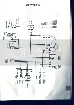 Polaris Cyclone wiring diagram  ATVConnection ATV