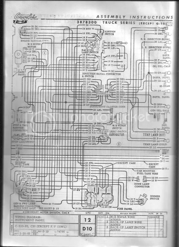 Wiring Diagram Furthermore 1965 Chevy C10 Wiring Diagram On 1966 Gmc