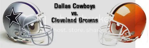 Image result for Cowboys vs. Browns
