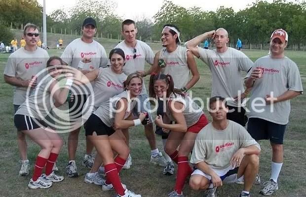 kickball team photo