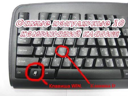 Самые популярные 10 комбинаций клавиш / Самые популярные 10 комбинаций клавиш (2014) MPG