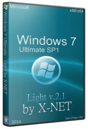 Windows 7 Ultimate Light 2.1 by X-NET (x86/x64/2014/RUS)