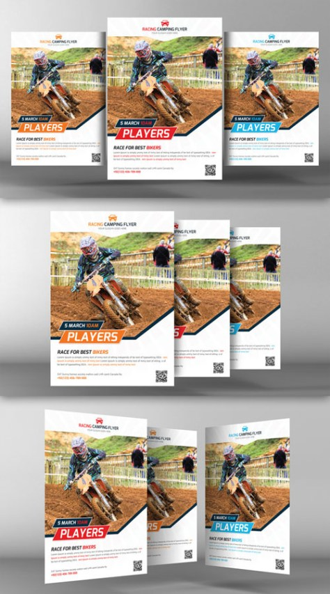 Bike Racing Flyer Template - CM 94088