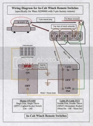 Wiring a winch switch in cab  Australian 4WD Action | Forum