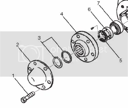Service manual [How To Remove 1992 Isuzu Trooper Hub