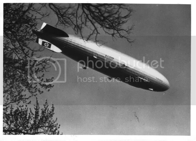 The Hindenburg on final approach to Lakehurst  Now just moments away from  disaster. fd6cd48e4b