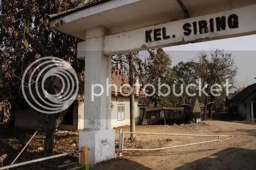 Gerbang Kelurahan Siring