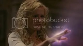 Sookie- Telepathic Barmaid with Glow Hands