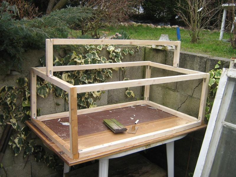 exceptional construire une mini serre #3: ça prend forme. | homeezy