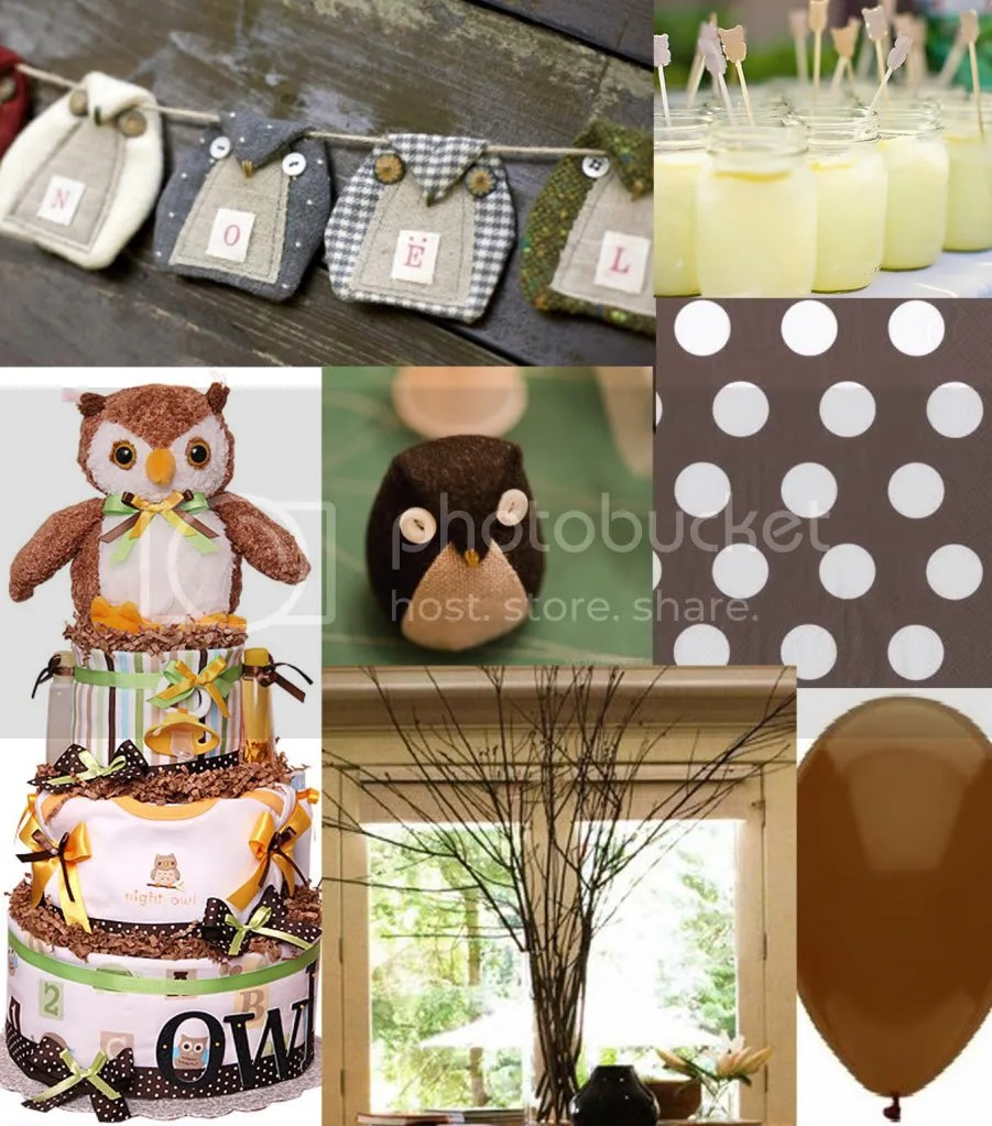 Owl Decorations For Baby Shower