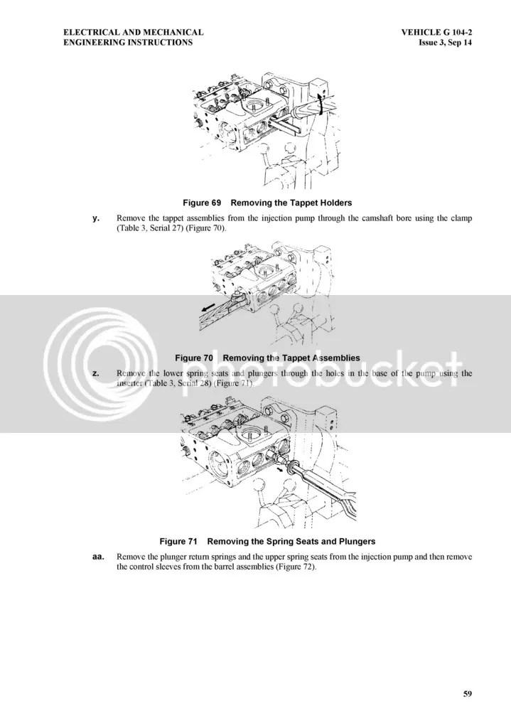 4BD1 Fuel Injection Pump Repair