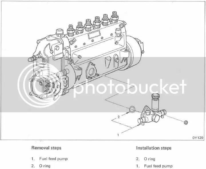 Bosch KE Fuel Feed (lift) Pump