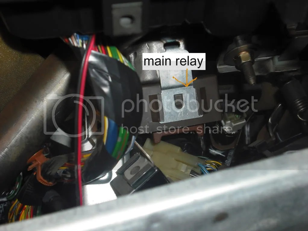 94 Honda Del Sol Fuel Pump Relay Location  Get Free Image