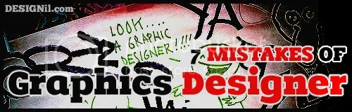 7 Mistakes of Graphics Designer