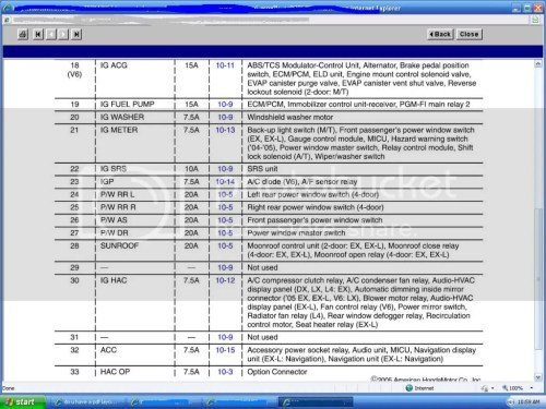 small resolution of 2010 honda accord v6 fuse box