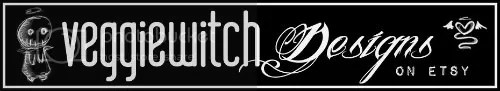 Veggiewitch Designs on Etsy
