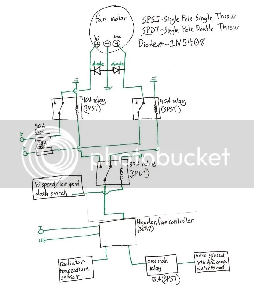 Hayden Electric Fan Wiring Diagram On Hayden Images Free Download