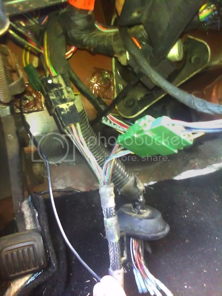 hight resolution of this is the harness in my 83 93 that runs to the rear dome cargo light and speakers try unplugging it and seeing if you stop blowing fuses