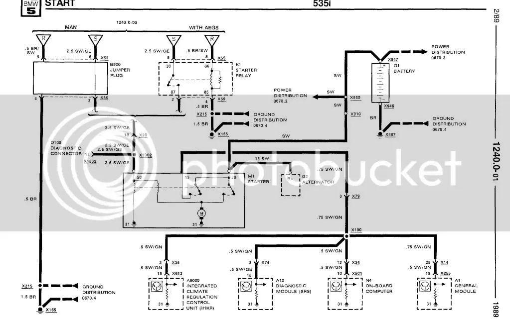 bmw e28 fuse box diagram