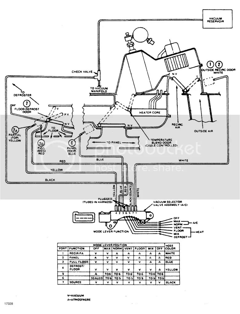 medium resolution of wiring schematic for a c heat on a 1984 f250 diesel ford truck