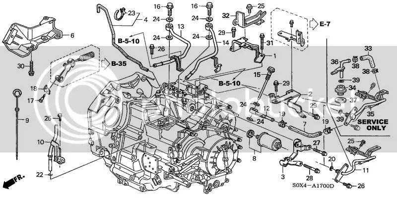 Honda OEM ATF Filter o-ring?