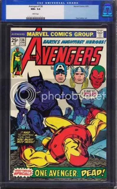 Exhibit F: Avengers #136